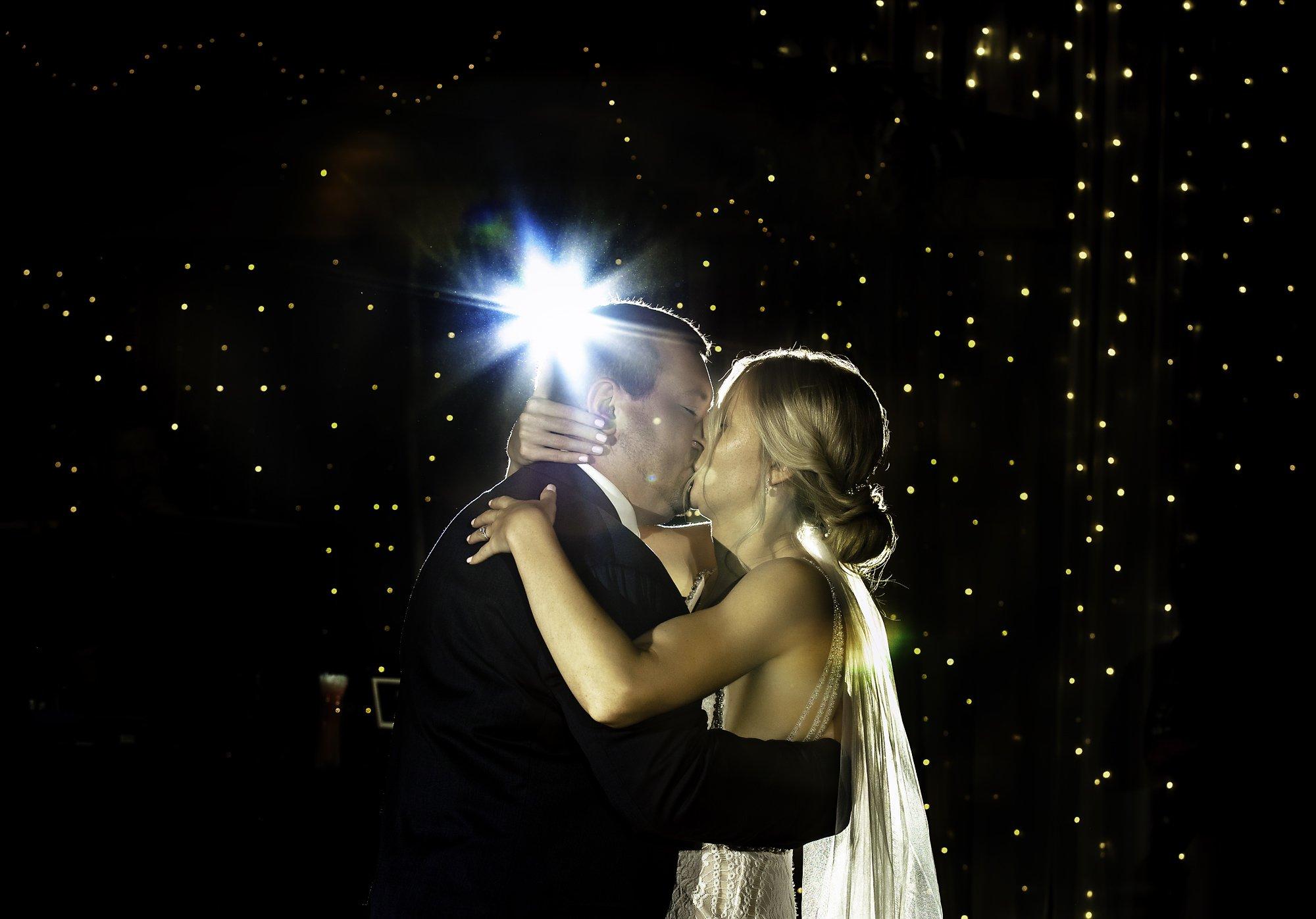 fist dance kisses Dixon's Apple Orchard Wedding   Kaitlyn + Jake
